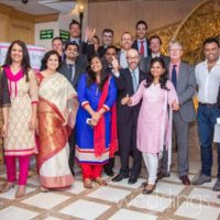 Alan Berg CSP in Mumbai with the weddingsonline team
