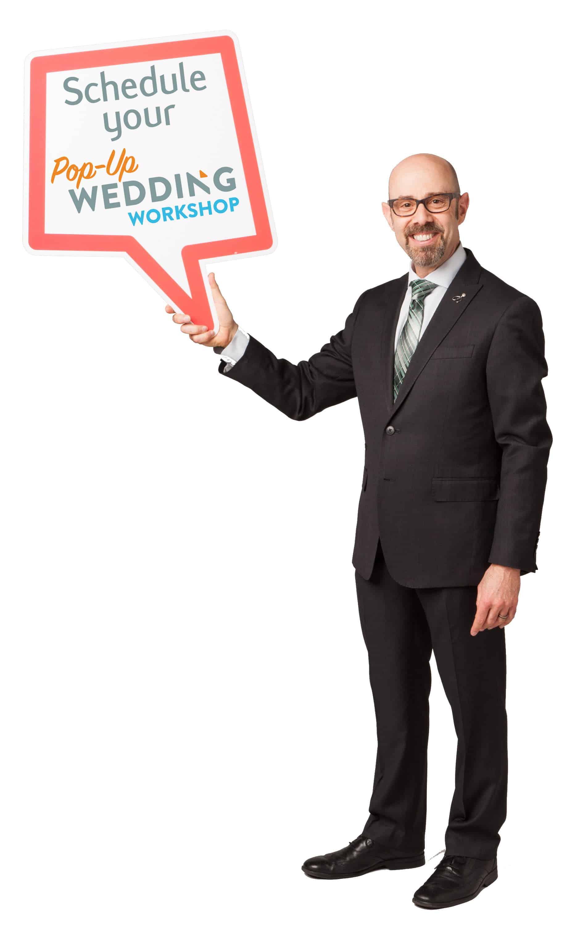 Alan Berg CSP Pop-Up Wedding Workshop