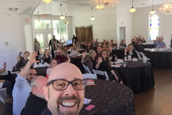 What a fun time at the first ever Pop-Up Wedding Workshop, in Austin, TX.