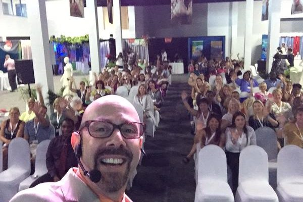 Saint Lucia Conference Selfie