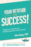 Your Attitude for Success WeddingWire ACCP special edition cover