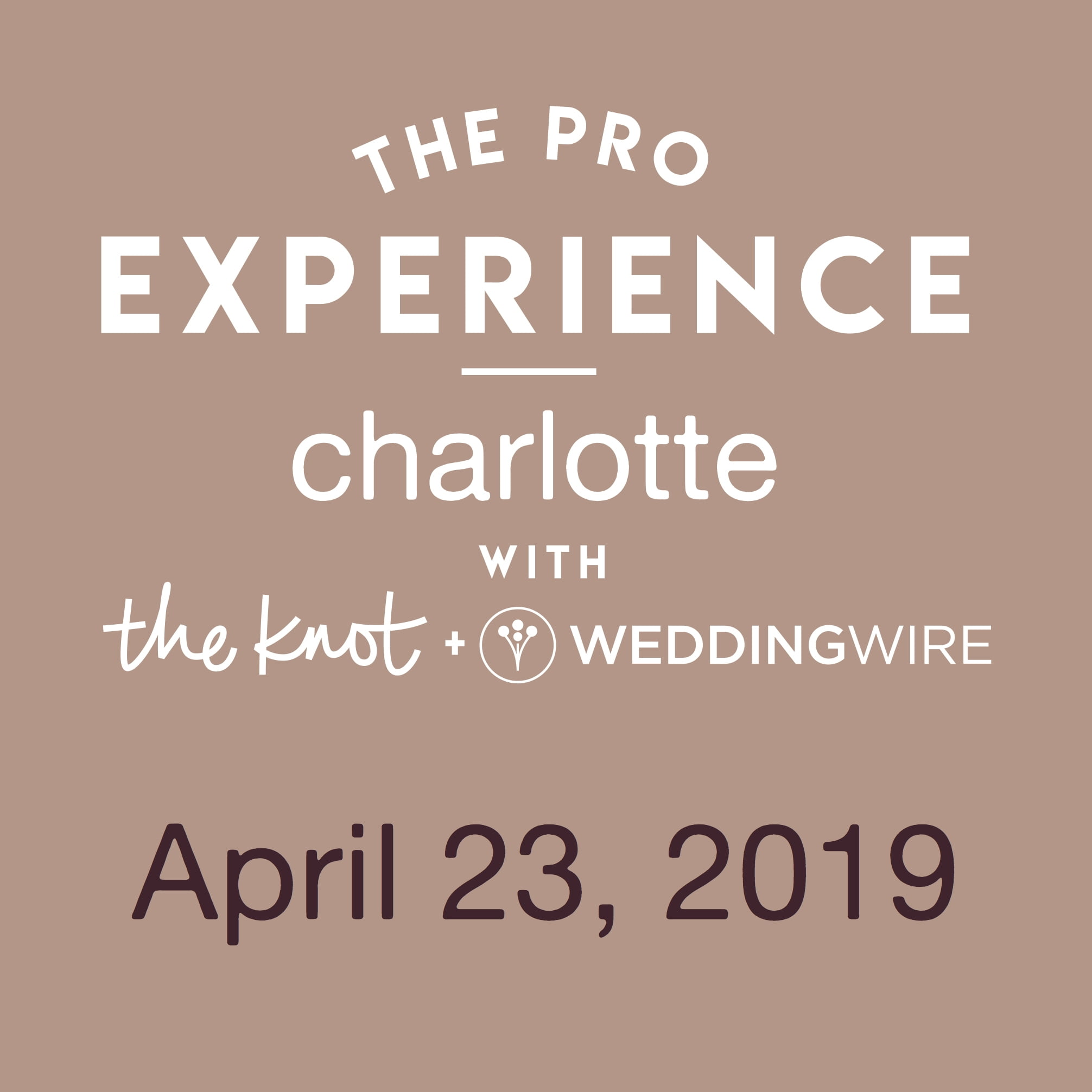 The Pro Experience with The Knot & WeddingWire - Charlotte