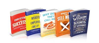 Alan Berg CSP - 5 books