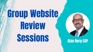 Group Website Review Sessions