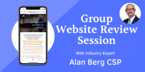 Alan Berg CSP Group Website Review Session