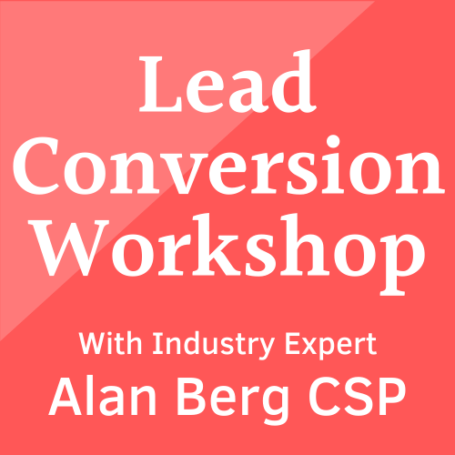 Lead Conversion Workshop