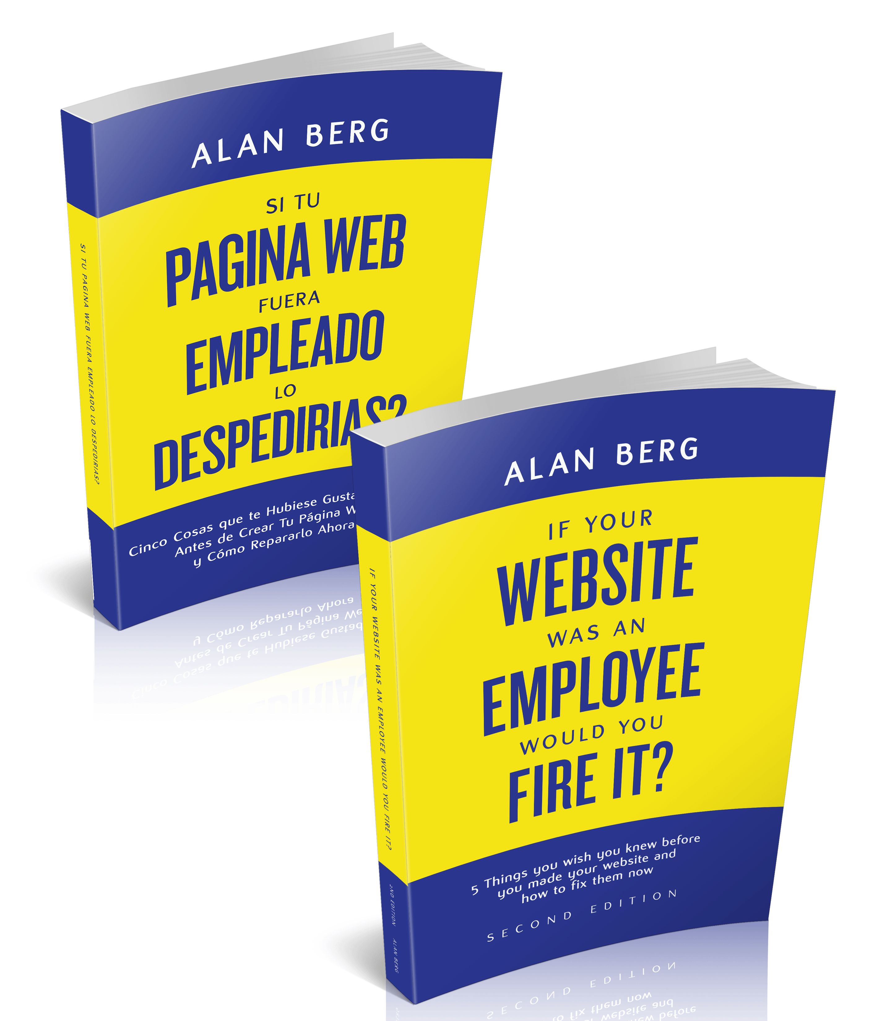 If Your Website Was An Employee Would You Fire It English & Spanish