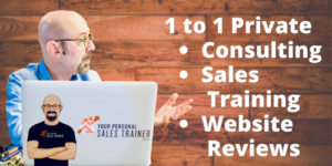 1 on 1 Consulting Sales Training Website Reviews with Alan Berg CSP