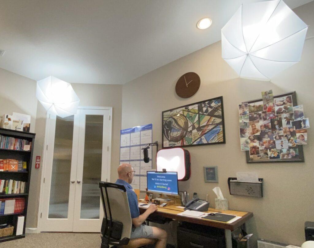 Alan Berg CSP Office showing lighting