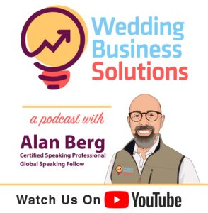 Watch the Wedding Business Solutions Podcast on YouTube