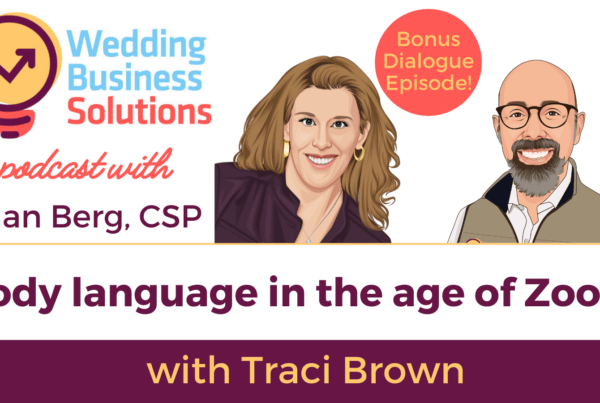 Wedding Business Solutions Bonus Episode with Traci Brown