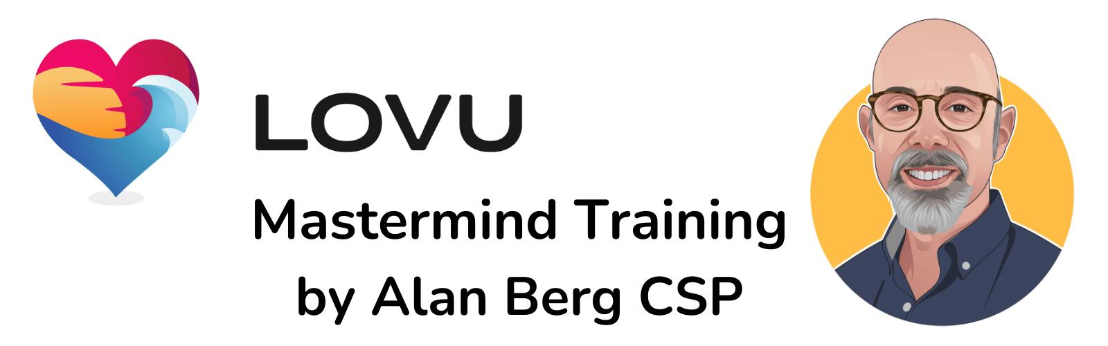 LOVU Mastermind Training by Alan Berg CSP